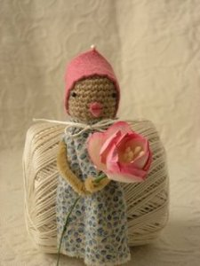 head scarf peep