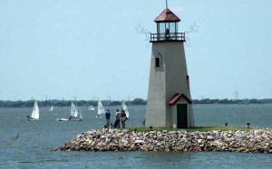 lake hefner lighthouse, oklahoma city, ok